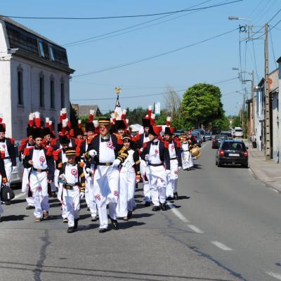 Pentecôte 2012 - Samedi - Délégation à Gougnies - 1