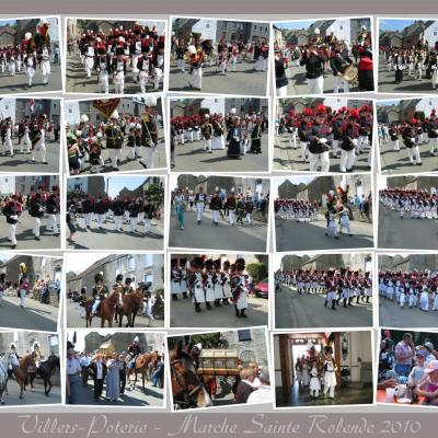 La Marche Sainte Rolende 2010 à Villers-Poterie