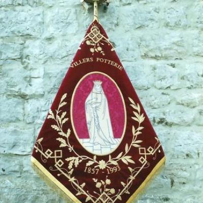 Archive 1993 - Bénédiction du nouveau drapeau